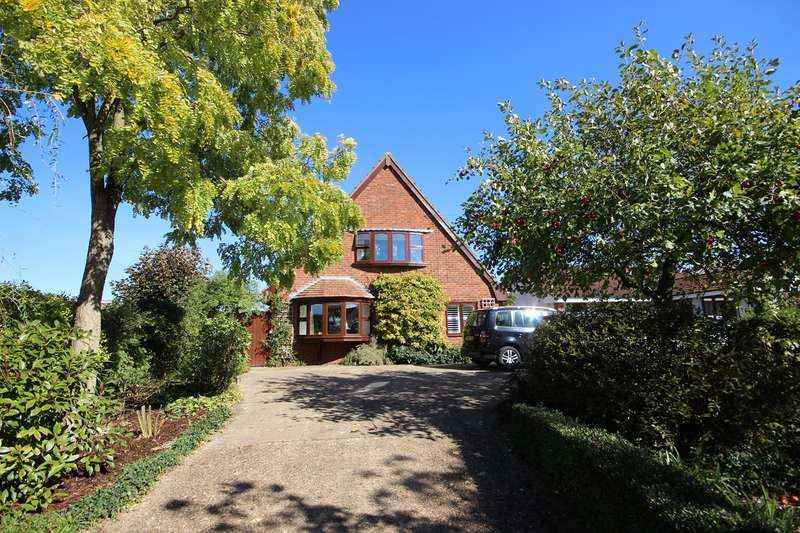 4 Bedrooms Detached House for sale in Bedford Road, Houghton Conquest, Bedfordshire, MK45