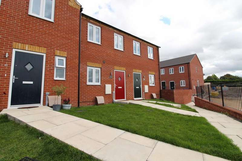 2 Bedrooms Town House for sale in Northolme View, Gainsborough