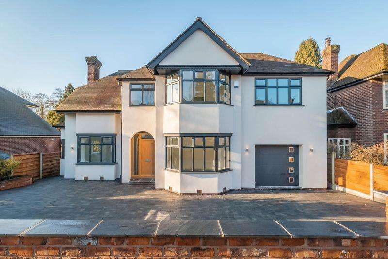 4 Bedrooms Detached House for sale in Woodlands Road, Wilmslow
