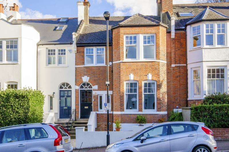 4 Bedrooms Terraced House for sale in Glasslyn Road, Crouch End N8