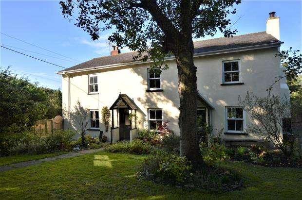 5 Bedrooms Detached House for sale in Morchard Bishop, Crediton, Devon
