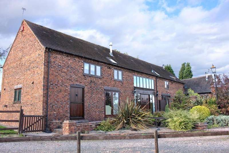 5 Bedrooms Barn Conversion Character Property for sale in Kingsbury, Tamworth, Staffordshire, B78