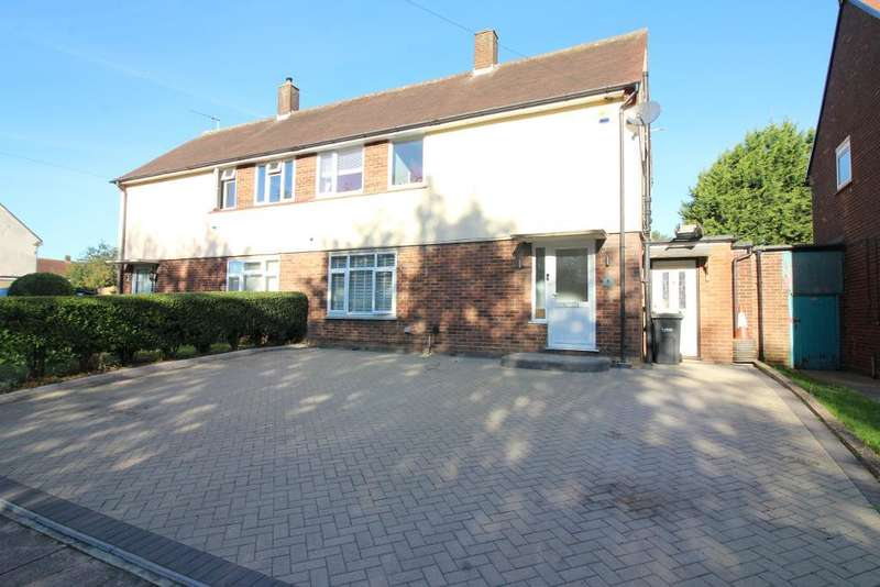 3 Bedrooms Semi Detached House for sale in Santingfield South, Luton, Bedfordshire, LU1 5LW