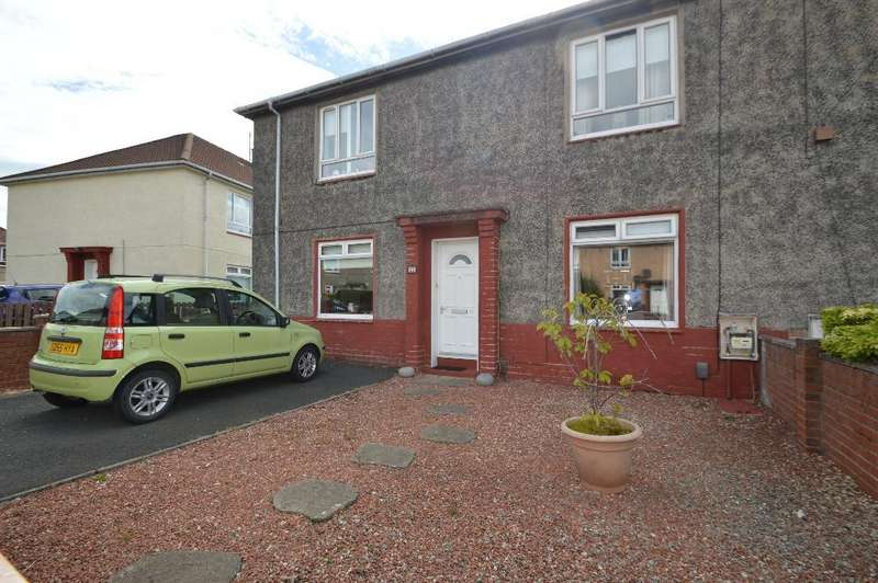 2 Bedrooms Flat for sale in Burns Crescent, Irvine, North Ayrshire, KA11 1AS