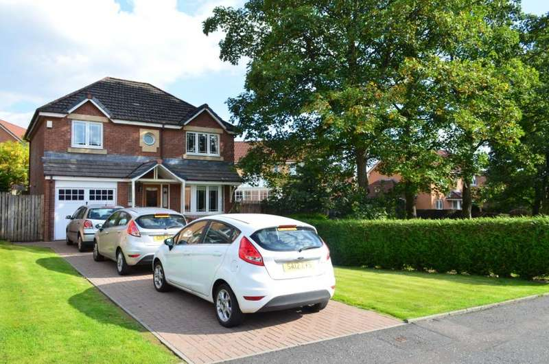 4 Bedrooms Detached House for sale in Branklyn Crescent, Academy Park, Glasgow, G13 1GJ
