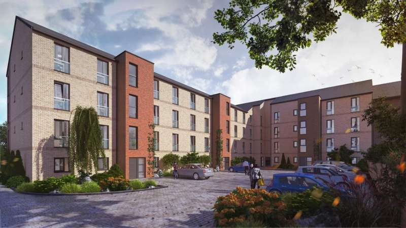 2 Bedrooms Apartment Flat for sale in Riverside Walk, Old Sneddon Street, Paisley, Glasgow, PA3 2AD