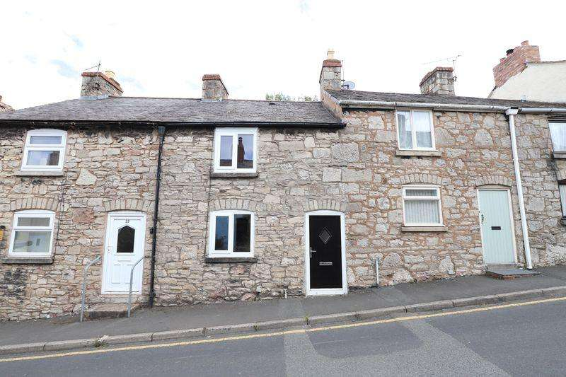 2 Bedrooms Terraced House for sale in Beacons Hill, Denbigh