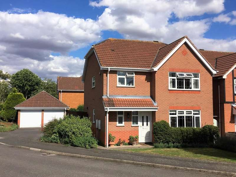 4 Bedrooms Detached House for sale in Breward Way, Melton Mowbray