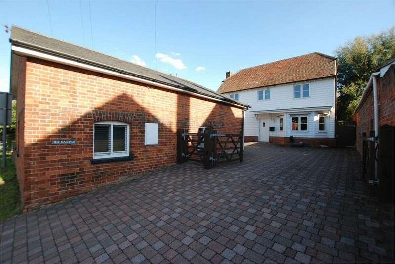 4 Bedrooms Detached House for sale in Upper Holt Street, Earls Colne, Essex