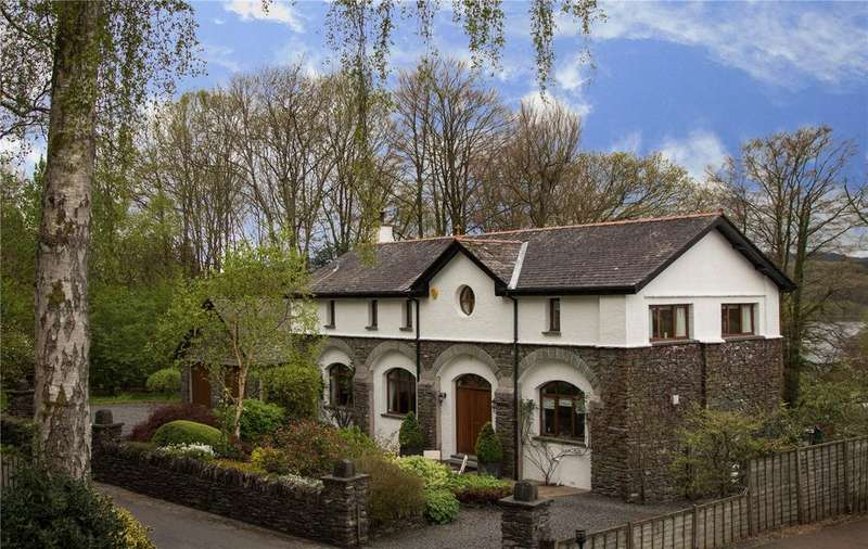 4 Bedrooms Detached House for sale in Filter House, Storrs Hill Lane, Storrs Park, Bowness-On-Windermere, Cumbria