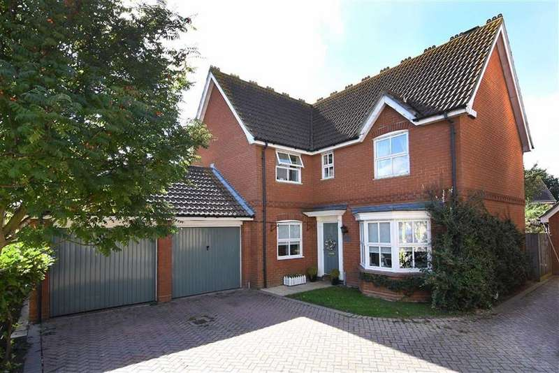 4 Bedrooms Detached House for sale in Hornbeam Chase, Brandon Groves, South Ockendon, Essex