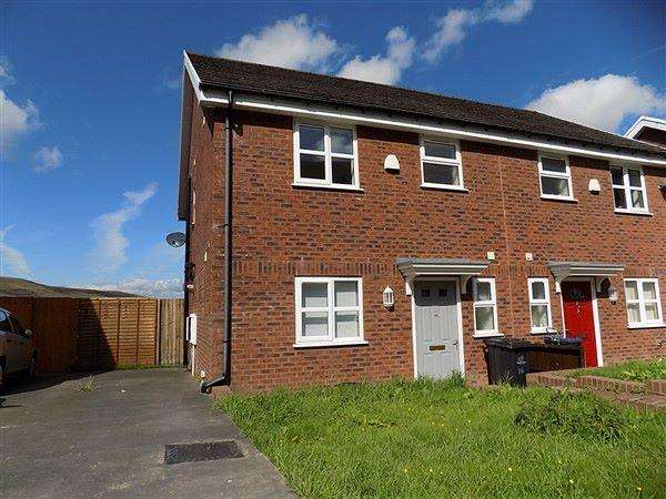 3 Bedrooms Semi Detached House for sale in Oak Road, Tanglewood, Blaina, NP13 3JX