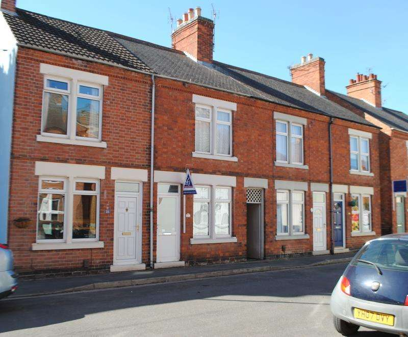 2 Bedrooms Terraced House for sale in Mansfield Street, Quorn, Loughborough