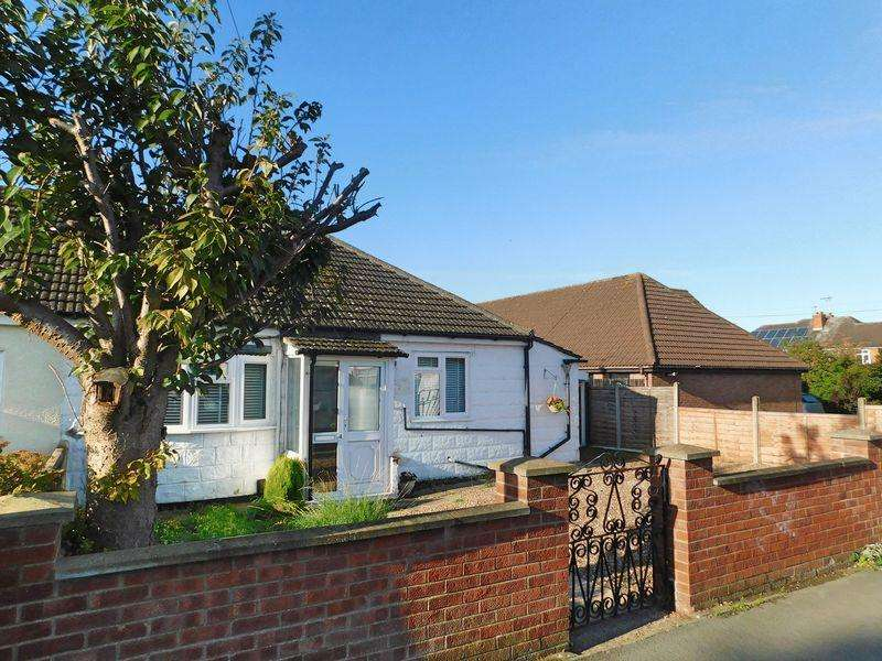 2 Bedrooms Semi Detached Bungalow for sale in Gorse Road, Grantham