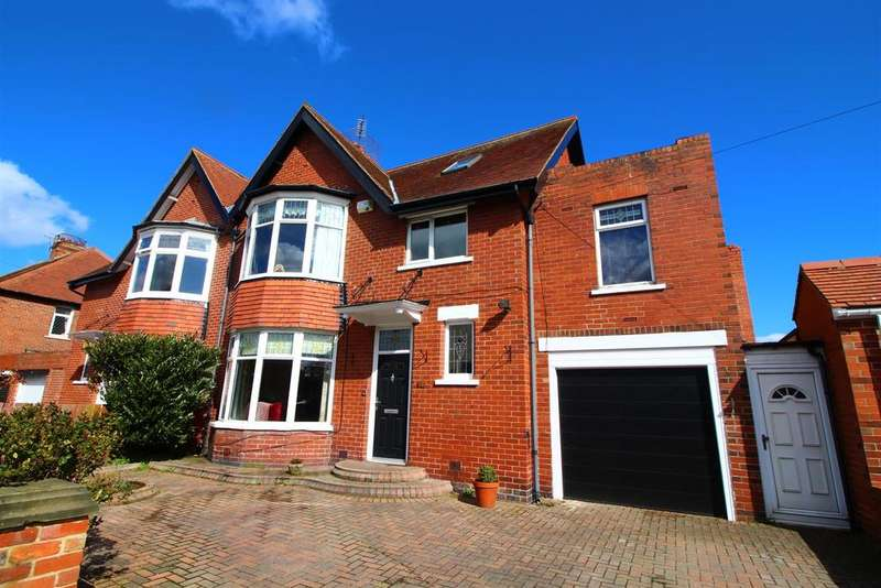 6 Bedrooms Semi Detached House for sale in Kennersdene, Tynemouth