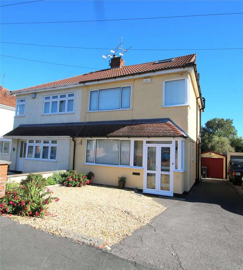 4 Bedrooms Semi Detached House for sale in Whitecross Avenue, Whitchurch, Bristol, BS14