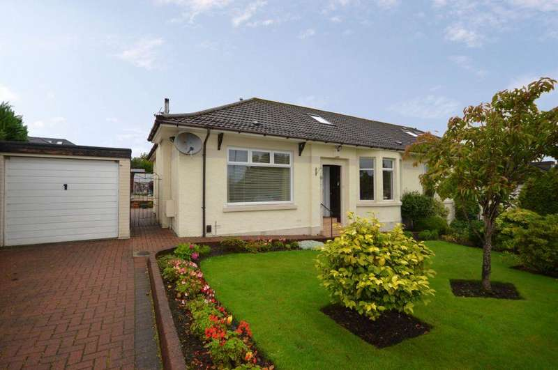 3 Bedrooms Semi Detached Bungalow for sale in 33 South Crosshill Road, Bishopbriggs, Glasgow, G64 2NN