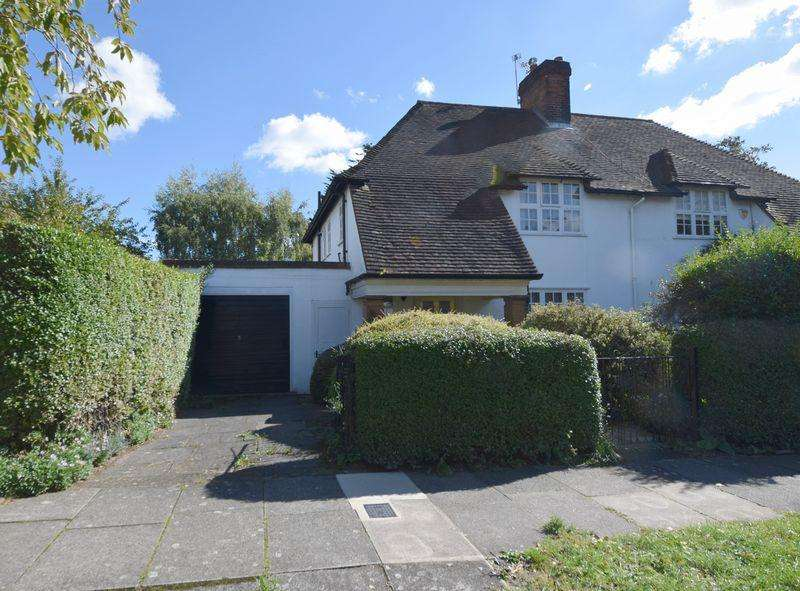 3 Bedrooms Semi Detached House for sale in Brookland Rise, Hampstead Garden Suburb, London NW11