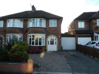 3 Bedrooms Semi Detached House for sale in Hawthorn Avenue, Birstall, Leicester, Leicestershire