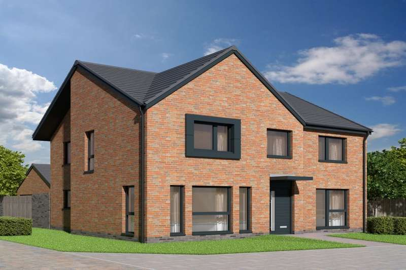 4 Bedrooms Detached House for sale in : The Hepburn Devongrange Development, Sauchie, Alloa, FK10