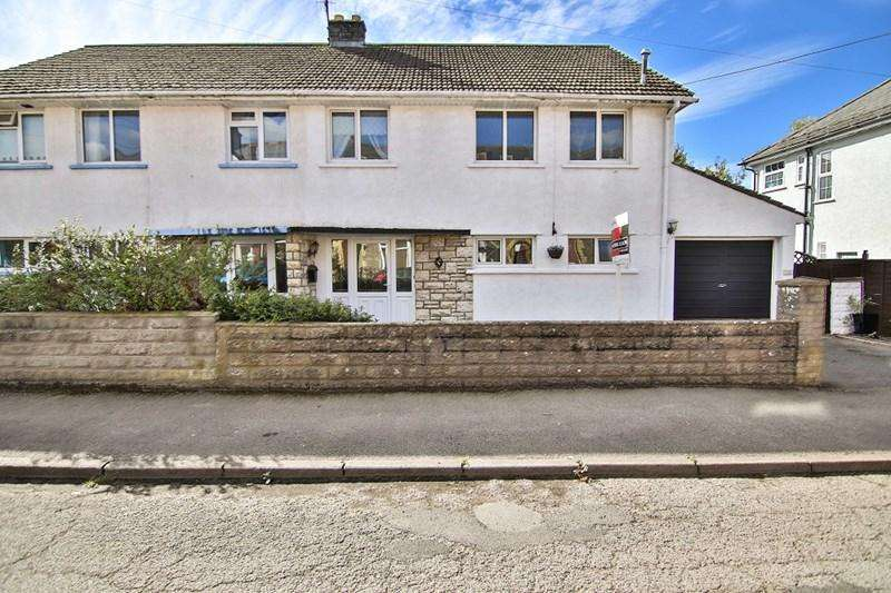3 Bedrooms Semi Detached House for sale in Hatherleigh Road, Abergavenny