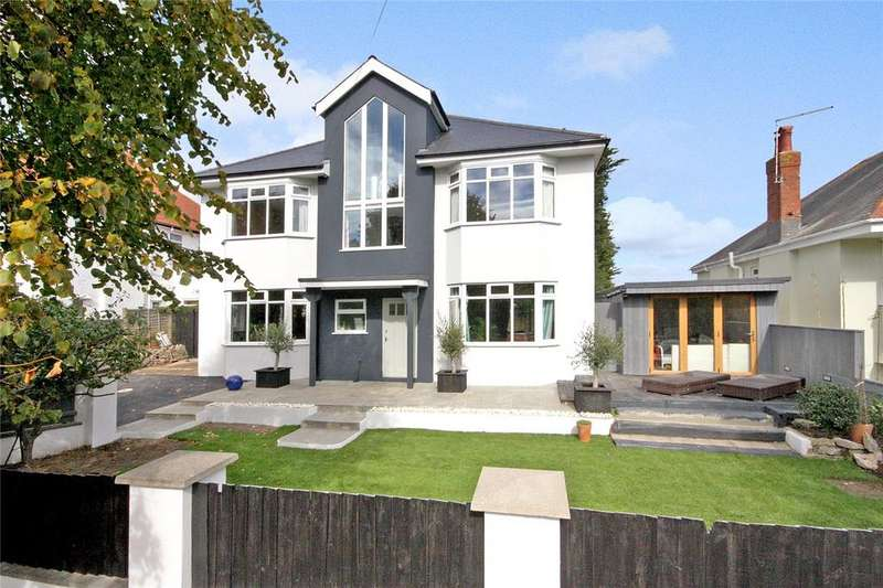 5 Bedrooms Detached House for sale in Rotherfield Road, Bournemouth, Dorset, BH5