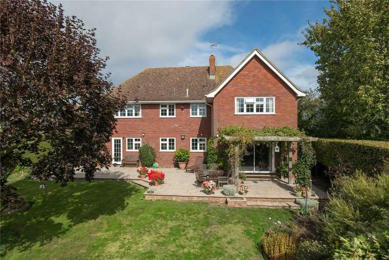 4 Bedrooms Detached House for sale in Bridge Road, Lower Hardres, Canterbury, Kent