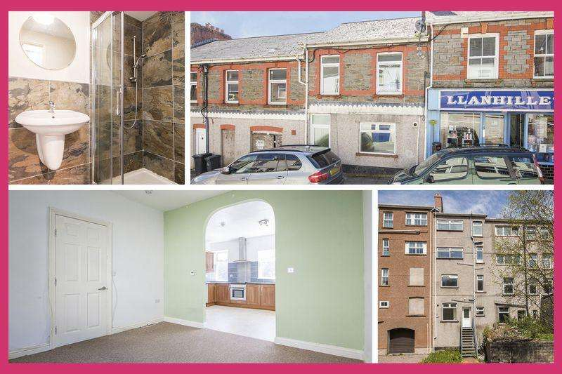 4 Bedrooms Terraced House for sale in Commercial Road, Abertillery - REF # 00004144