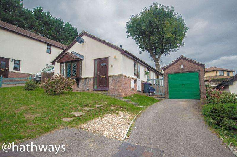 2 Bedrooms Detached Bungalow for sale in Beechleigh Close, Cwmbran