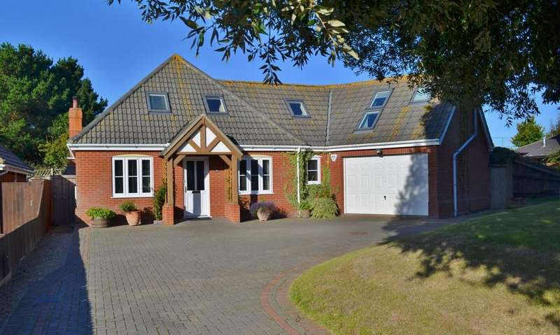 4 Bedrooms Detached Bungalow for sale in Maybush Lane, Felixstowe