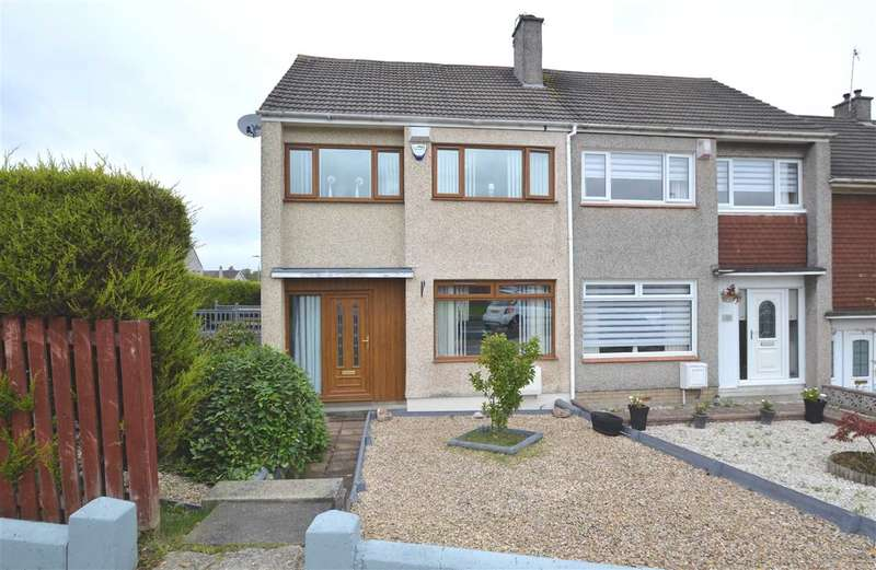 3 Bedrooms End Of Terrace House for sale in Machanhill, Larkhall