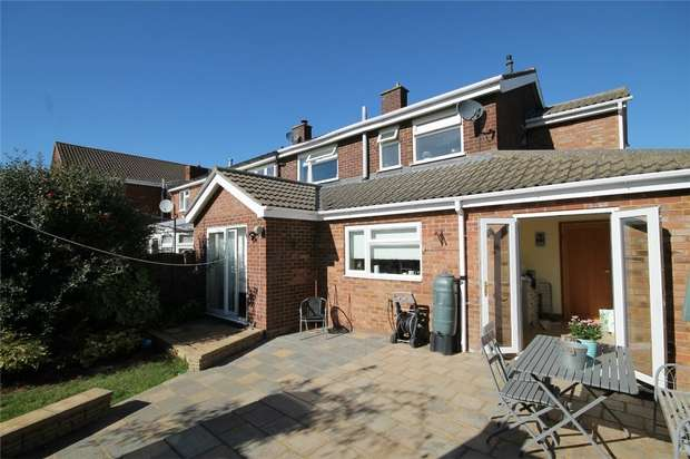 3 Bedrooms Semi Detached House for sale in Crane Way, Cranfield, Bedford
