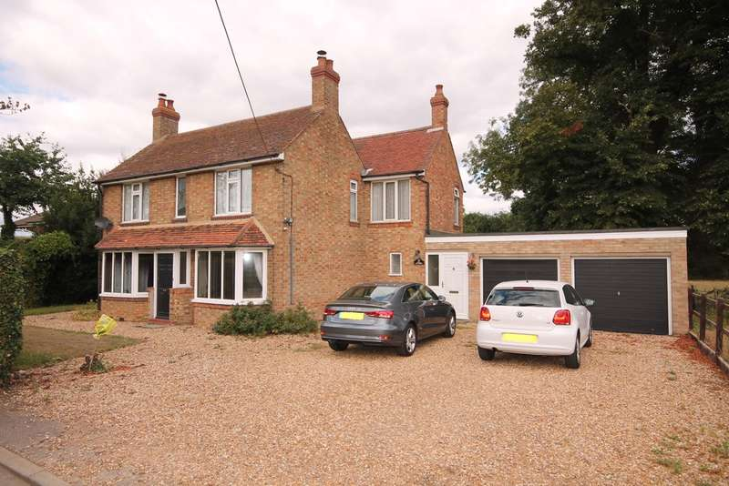4 Bedrooms Detached House for sale in Lea Cottage, Old Harrowden Road, Harrowden, MK42