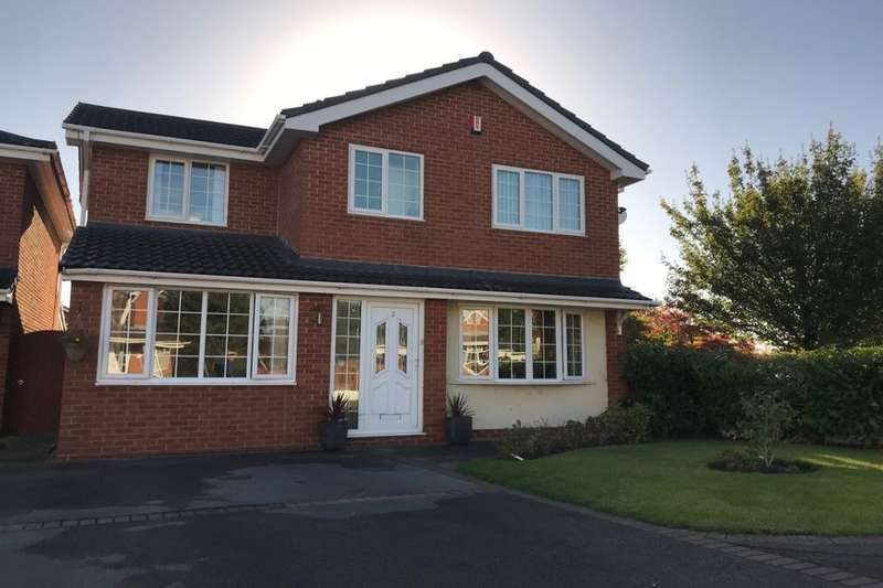 3 Bedrooms Detached House for sale in Sedgemere Avenue, Crewe, CW1
