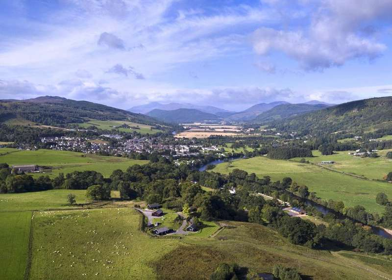 Country House Character Property for sale in Drumcroy Lodges, Aberfeldy, Perthshire