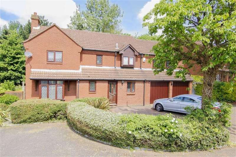 5 Bedrooms Detached House for sale in Overend Close, Bradwell, Milton Keynes