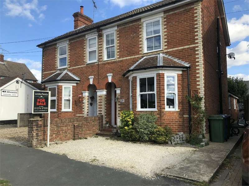 3 Bedrooms Semi Detached House for sale in Branksome Hill Road, College Town, SANDHURST, Berkshire
