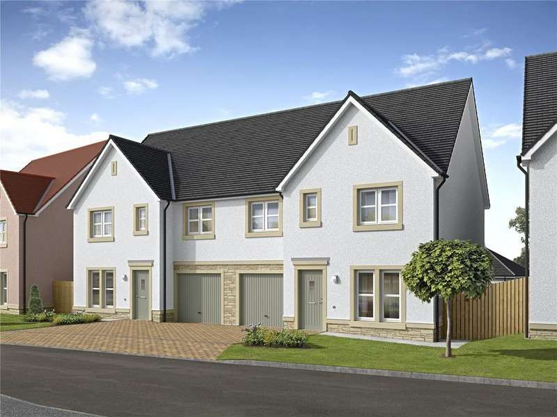 4 Bedrooms Semi Detached House for sale in Plot 32, The Benson, Meadowside, Kirk Road, Aberlady, Longniddry, East Lothian