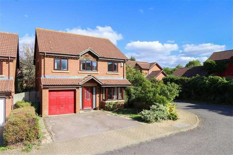 4 Bedrooms Detached House for sale in Brices Meadow, Shenley Brook End, Milton Keynes