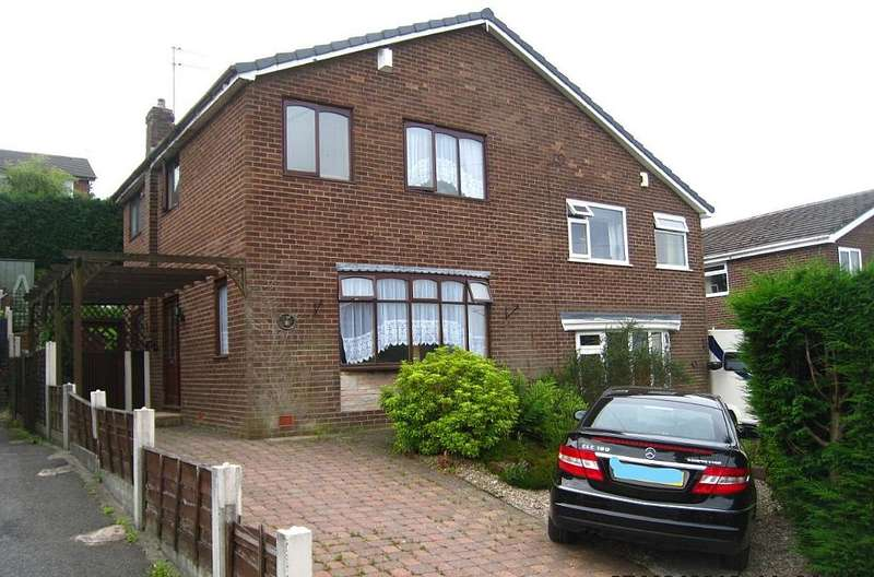 3 Bedrooms Semi Detached House for sale in Wordsworth Crescent, Littleborough, Greater Manchester, OL15 0RB
