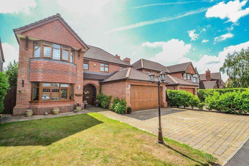 4 Bedrooms Detached House for sale in Jubilee Road, Longton, Preston, PR4 5QY