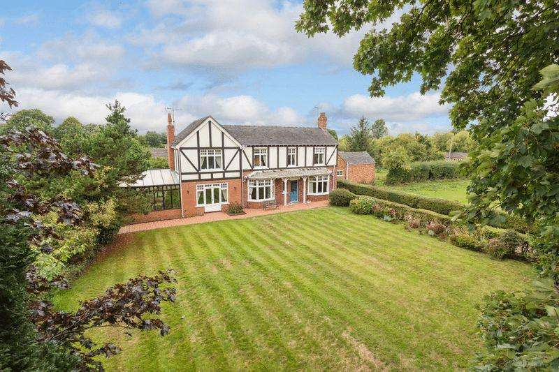 4 Bedrooms Detached House for sale in Laburnum House, Haymoor Green Road, Wybunbury, Nantwich