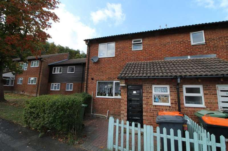 3 Bedrooms End Of Terrace House for sale in Spoondell, Dunstable