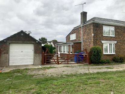 2 Bedrooms Semi Detached House for sale in School Lane, Old Leake, Boston, Lincolnshire