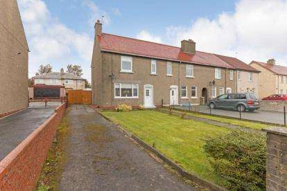 3 Bedrooms End Of Terrace House for sale in Mayfield Road, Saltcoats, North Ayrshire