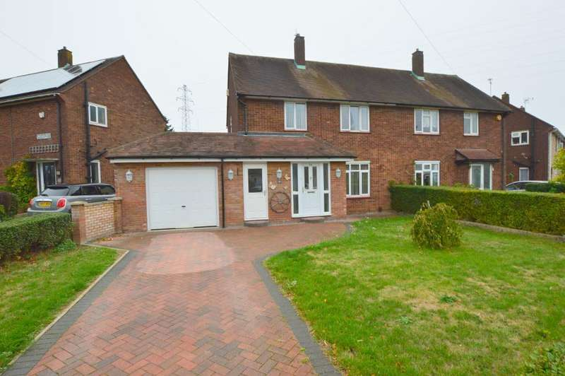 3 Bedrooms Semi Detached House for sale in Friars Way, Farley Hill, Luton, LU1 5PR