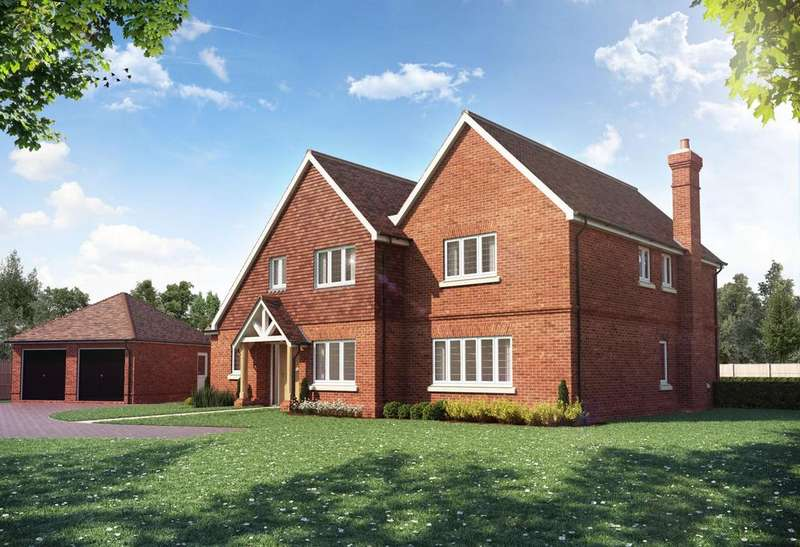 5 Bedrooms Detached House for sale in Helmsley Park, Clappers Lane, Chobham.