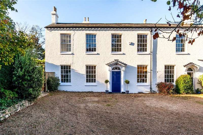 6 Bedrooms Semi Detached House for sale in Church Road, Bishopstoke, Eastleigh, Hampshire, SO50