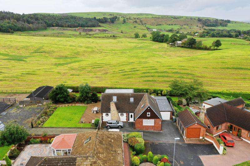 5 Bedrooms Detached House for sale in WHITFIELD CRESCENT, Newhey, Rochdale OL16 4NA