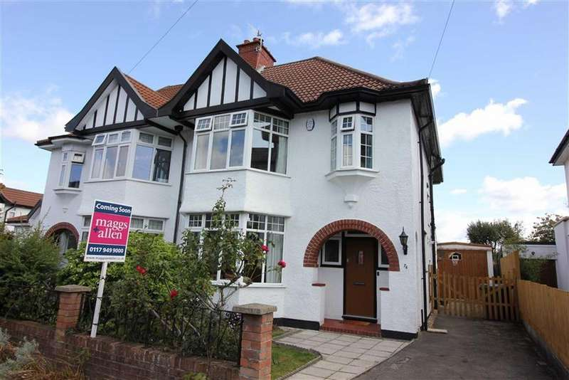 3 Bedrooms Semi Detached House for sale in Hill View, Henleaze, Bristol